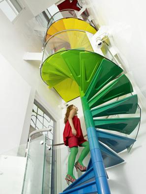 Foto de Una buena idea: una escalera arcoíris (6/7)