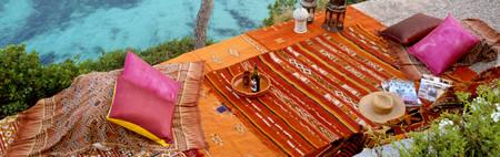 Este verano presume de alfombras: Kílims para llenar de artesanía los exteriores