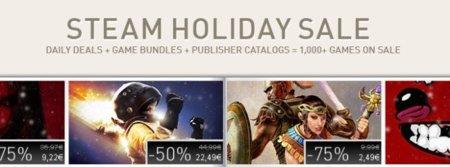 Steam termina el año con increíbles rebajas