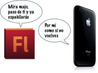 Adobe tira la toalla y cesa el desarrollo de la creación de aplicaciones del iPhone desde Flash