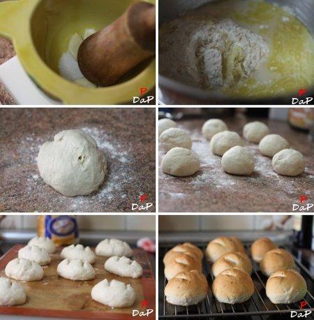 Pasos para hacer pan de ajo