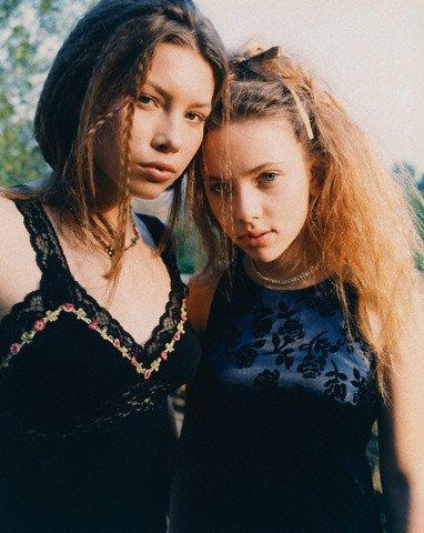 Scarlett y Jessica Biel
