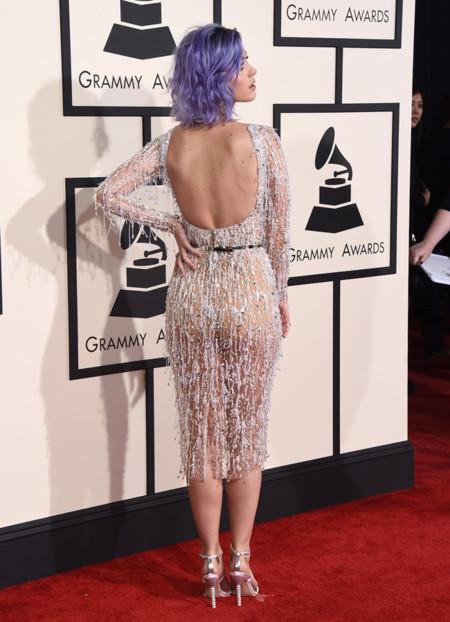 Katy Perry Grammy 2015 Espalda Zuhair Murad