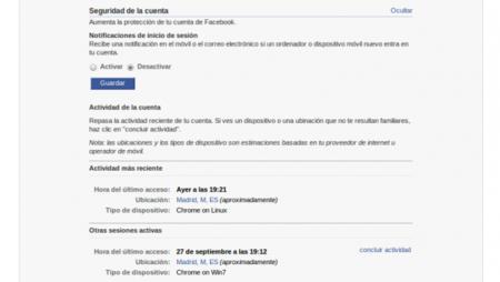 Facebook lanza el cierre de sesión remota y las contraseñas de usar y tirar