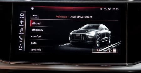 Audi Q8 drive select
