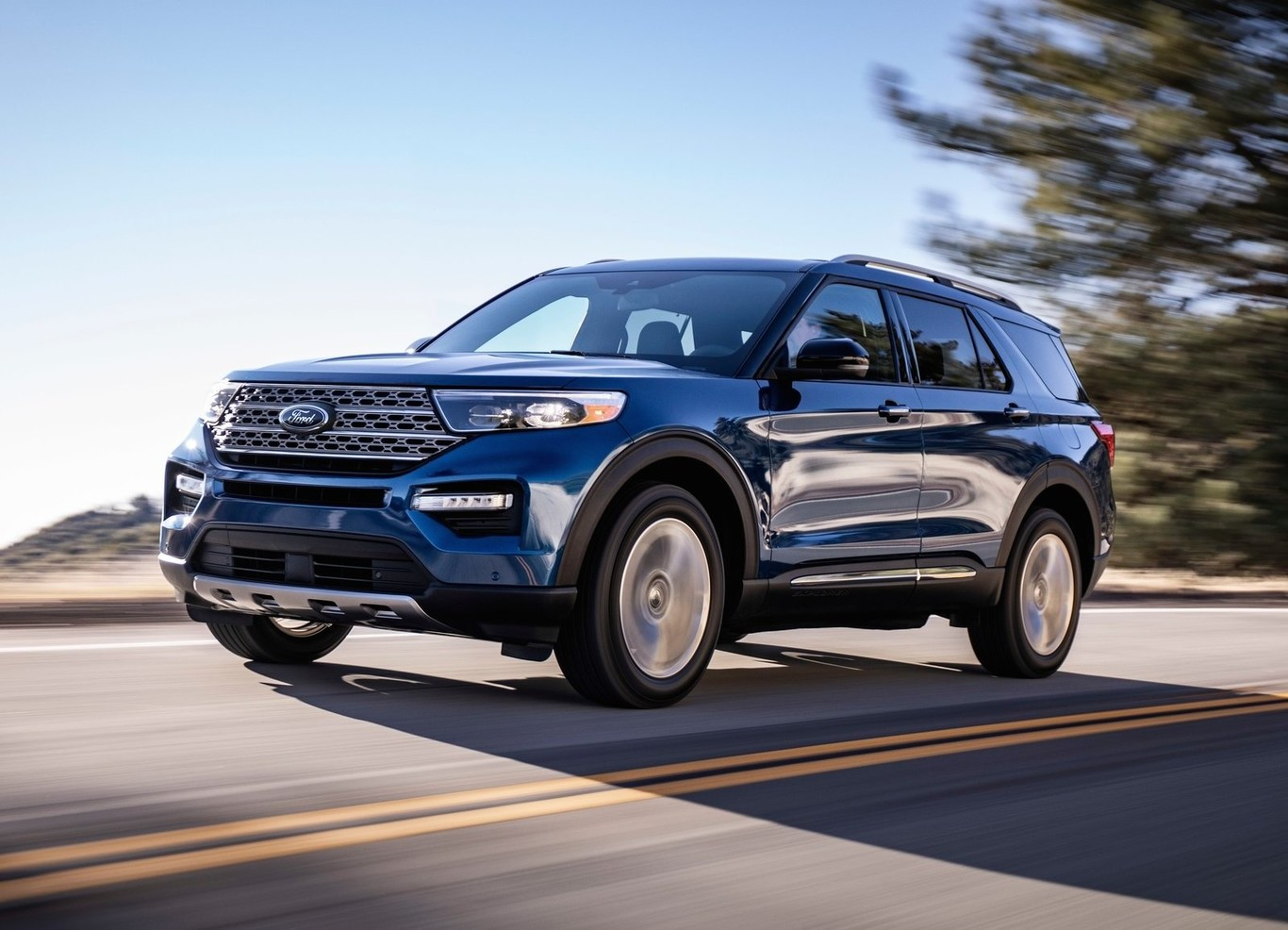 2021 The Ford Explorer Concept and Review