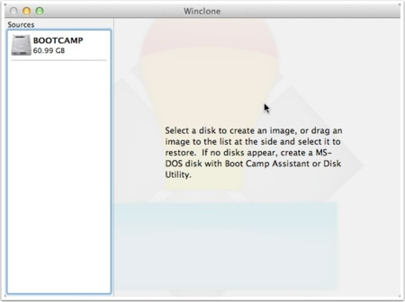 Winclone para OS X, copia, migra o restaura tu instalación de Windows en Mac