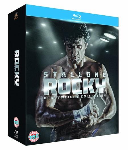 Las 6 películas de la saga Rocky, en Blu-ray, por 22,99 euros y envío gratis