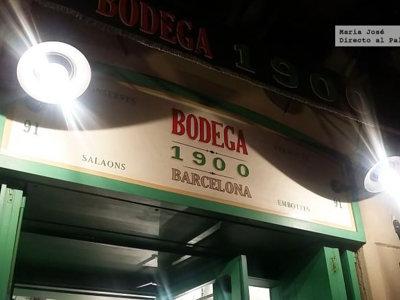 Bodega 1900. Tapas de diseño en Barcelona por Albert Adrià