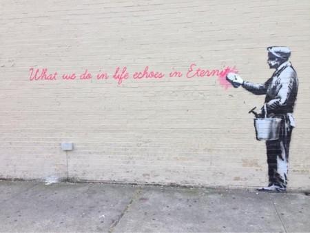 Banksy aterriza en Nueva York para hacer de las suyas, ¿le seguimos la pista?