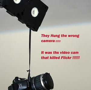 Del futuro de la fotografía y de cómo las nuevas cámaras reflex y Flickr influirán en ello.