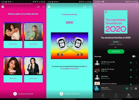 Spotify Resumen 2020