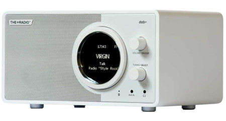 The Radio Dab White Side View 550x293