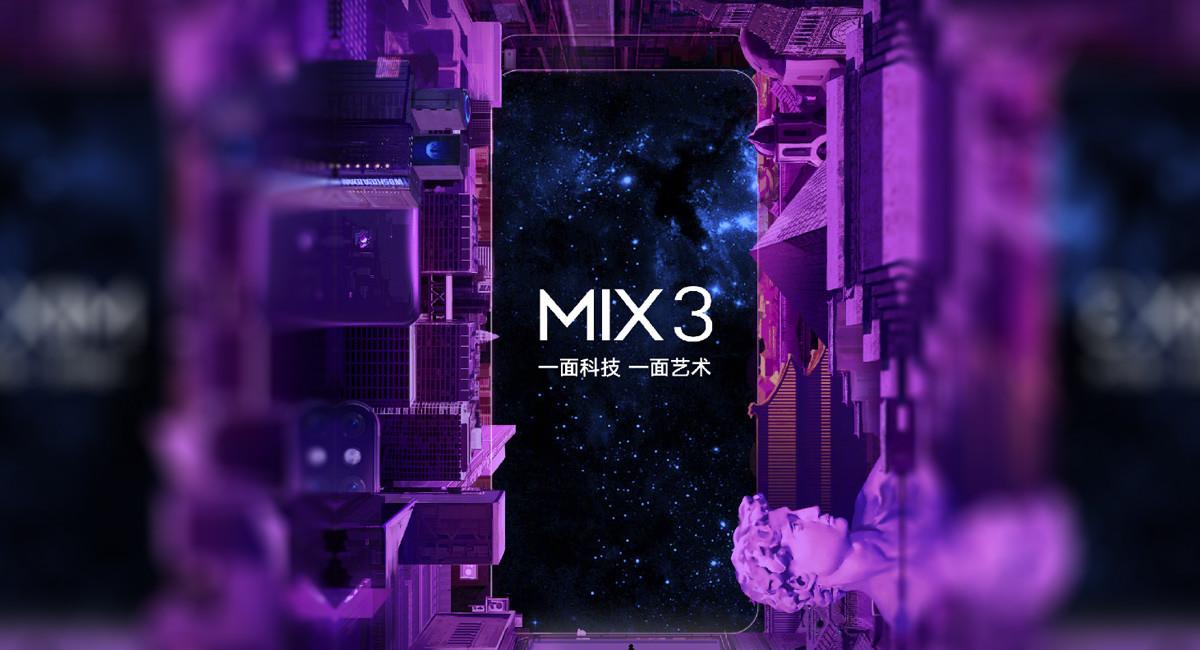 📆 Arrancó la cuenta regresiva para el lanzamiento del Xiaomi Mi Mix 3 que será el…