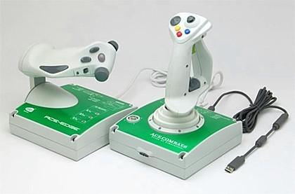 Controlador para el Ace Combat 6 de Box 360