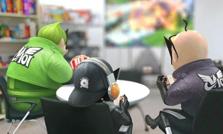 Los héroes de Wonderful 101 aparecen jugando a Switch en Twitter. ¿Algo que desees compartir, Platinum Games?