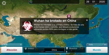 Los juegos de plagas y desastres ganan popularidad en China tras el brote del virus Wuhan