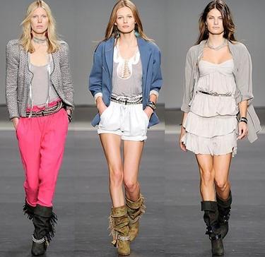 Tendencias Primavera-Verano 2010: las mejores colecciones y looks