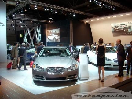 Jaguar XF en el Salón de Madrid