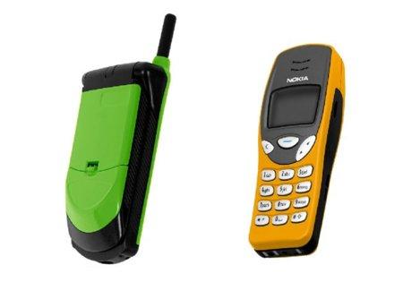 El Nokia 3210 y el Motorola StarTAC siguen vivos
