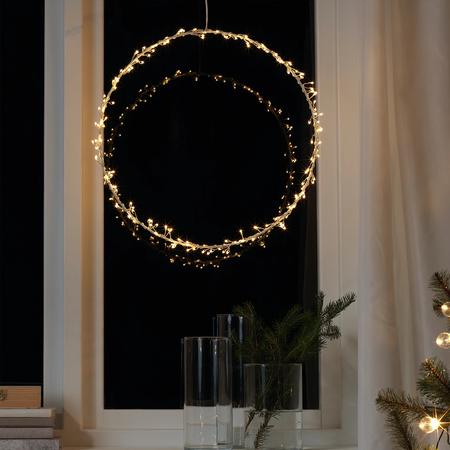 Corona de luz Ikea