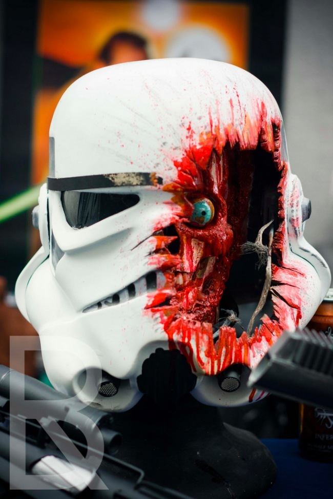 Stormtrooper shooted