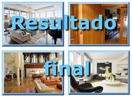 Casas poco convencionales 2008: resultado final