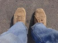 Unas plantillas en nuestros zapatos nos indican qué dirección debemos seguir