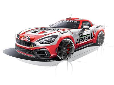 Este Abarth 124 Rally correrá el Campeonato de España de Rallyes de Asfalto 2017