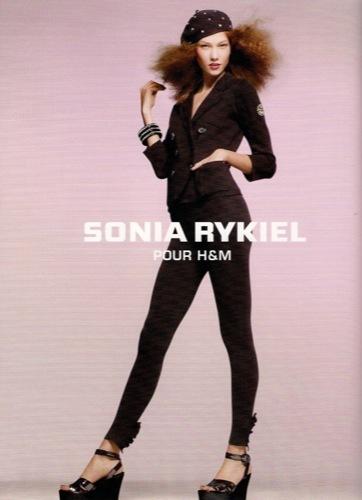 Colección exclusiva de Sonia Rykiel para HM, Primavera-Verano 2010. Negro