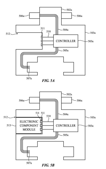 Patente Apple Watch Modular 3