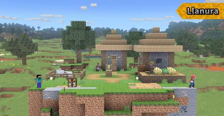 Super Smash Bros Ultimate Minecraft Etapa 01