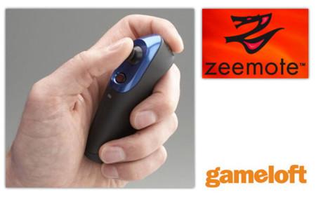 Gameloft dará soporte a Zeemote en sus juegos