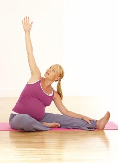 Mejorar la postura durante el embarazo