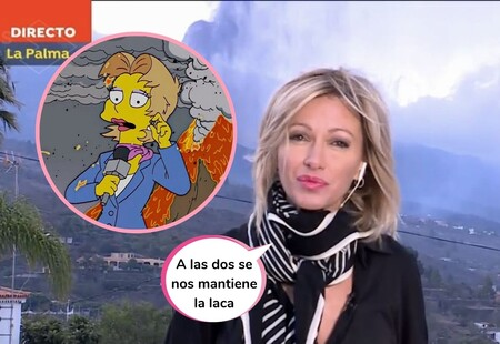 Susanna Griso reacciona (por fin) al meme en el que la comparan con 'Los Simpson' y que se ha hecho viral