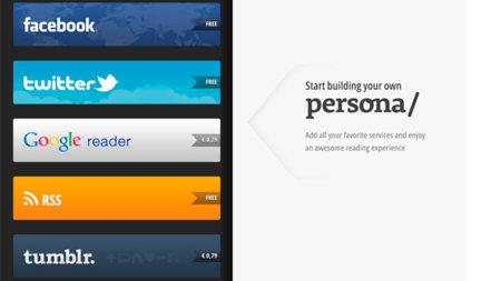 La alternativa para iPad de Flipboard se llama Persona/