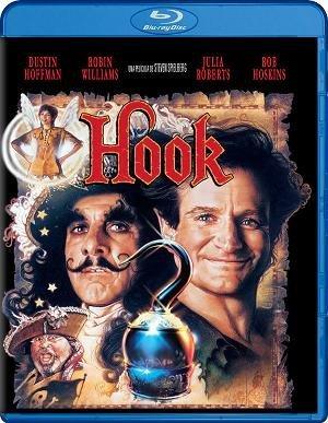 Imagen del bluray español de Hook