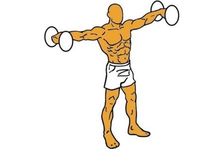 Para tener en cuenta al realizar elevaciones laterales de brazos con mancuernas