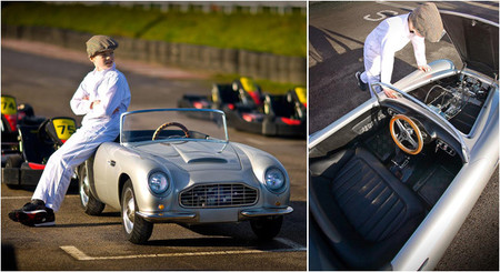 Aston Martin DB Convertible Junior, un sueño de infancia