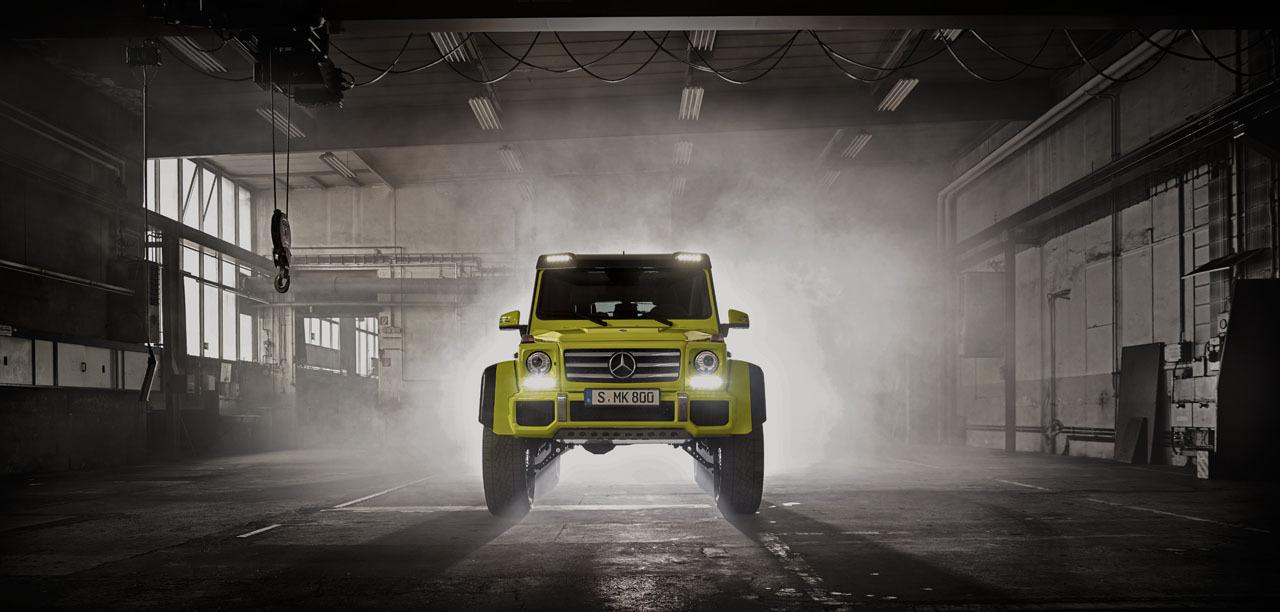 Foto de Mercedes-Benz G 500 4x4², toma de contacto (17/127)