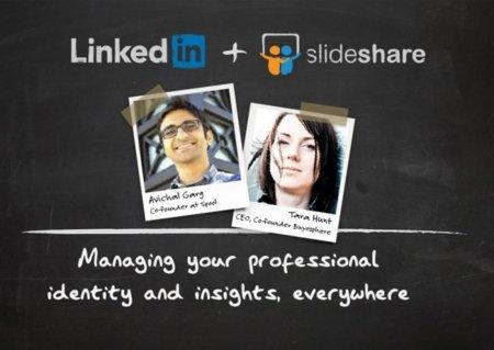 Linkedin compra Slideshare por más de 100 millones de dólares