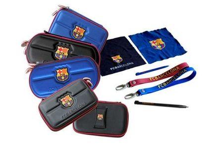 Fundas del FC Barcelona para las portátiles DS y PSP