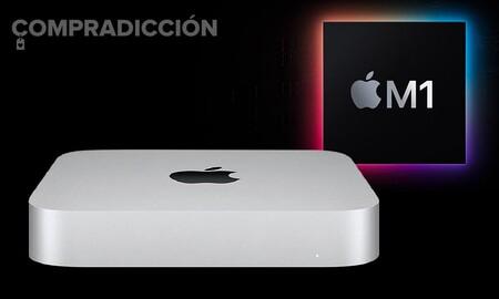 Estrena el Mac Mini con chip M1 a precio mínimo: Amazon lo tiene por sólo 734 euros