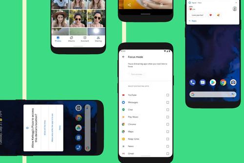 Android 10 es oficial: estas son todas las novedades de la nueva versión del sistema