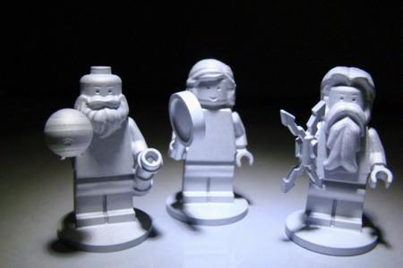 En este momento hay tres figuras Lego orbitando alrededor de Júpiter