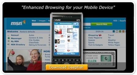 Microsoft Deepfish, nuevo navegador móvil