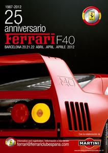 25 aniversario del Ferrari F40