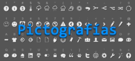 Ahorra peso a una web usando pictografías en lugar de imágenes