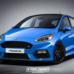 Ford Fiesta RS, no te emociones, es un render, pero que nos gustaría ver hecho realidad