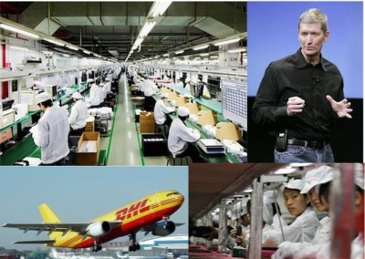 La cadena logística de Apple, uno de los tesoros de la compañía
